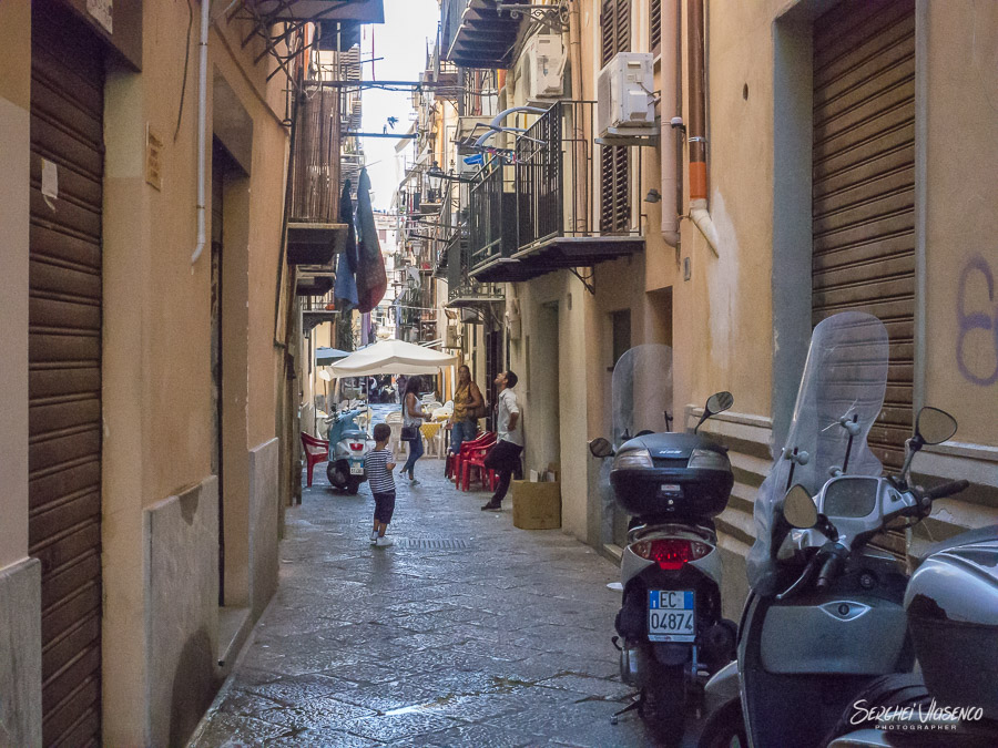 Travel Photography Architecture photography typical italian street