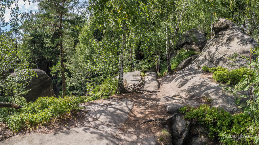 Rock Theatre outlook in the forest