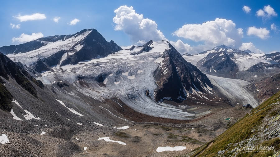 Mountains and glaciers Austrian Alps Photography
