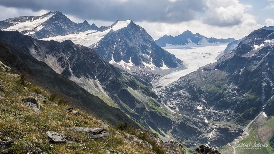Valley in the mountains Austrian Alps Photography